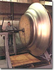 over 50 years of metal spinning experience